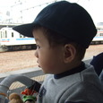 初!電車!